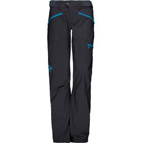 Norrøna W's Falketind Flex1 Pants Caviar/Blue Moon